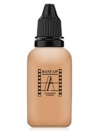 Make-Up Atelier Paris HD Fluid Concealer Apricot AIRA2 Medium apricot Корректор-консилер для аэрографа А2 светло-абрикосовый
