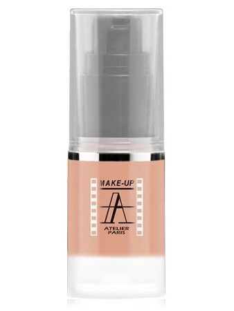 Make-Up Atelier Paris HD Fluid Blush AIRNU1 Nude Румяна-флюид HD телесные