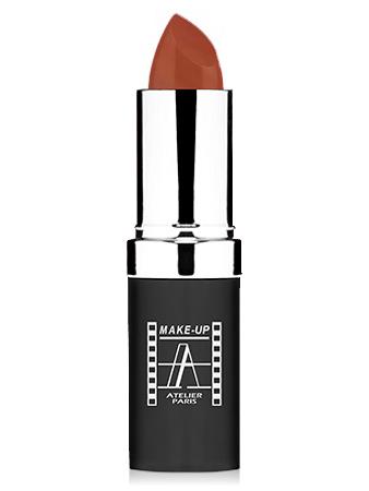 "Make-Up Atelier Paris Cristal Lipstick B014 Natural brown Помада ""Кристалл"" натуральный коричневый"