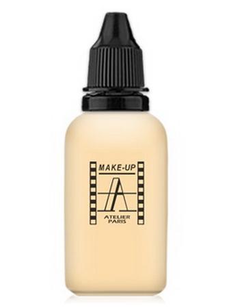 Make-Up Atelier Paris HD Fluid Foundation AIR1Y Yellow clear Корректор-консилер для аэрографа 1Y бледно-золотистый