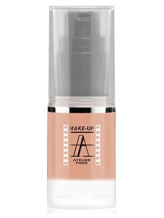 Make-Up Atelier Paris HD Fluid Blush AIRNU1 Nude Румяна-флюид HD телесные