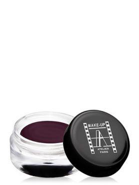 Make-Up Atelier Paris Cream Eyeshadow ESCBV Purple brown Тени для век кремовые фиолетово-коричневые