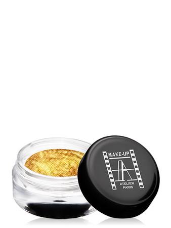 Make-Up Atelier Paris Cream Eyeshadow ESCOR Gold Тени для век кремовые сверкающее золото