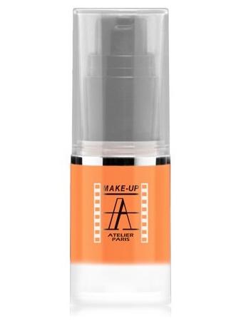 Make-Up Atelier Paris HD Fluid Blush AIRC1 Corail Румяна-флюид HD коралловые