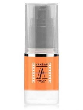 Make-Up Atelier Paris HD Fluid Blush AIRC1 Corail Румяна-флюид HD коралловые